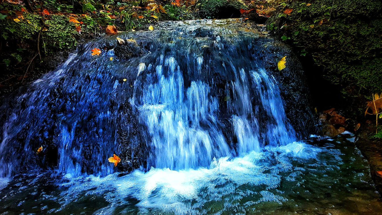 Autumn Beauty In Nature Day Fall Flowing Water Forest Motion Nature No People Outdoors Poland Scenics Water Waterfall
