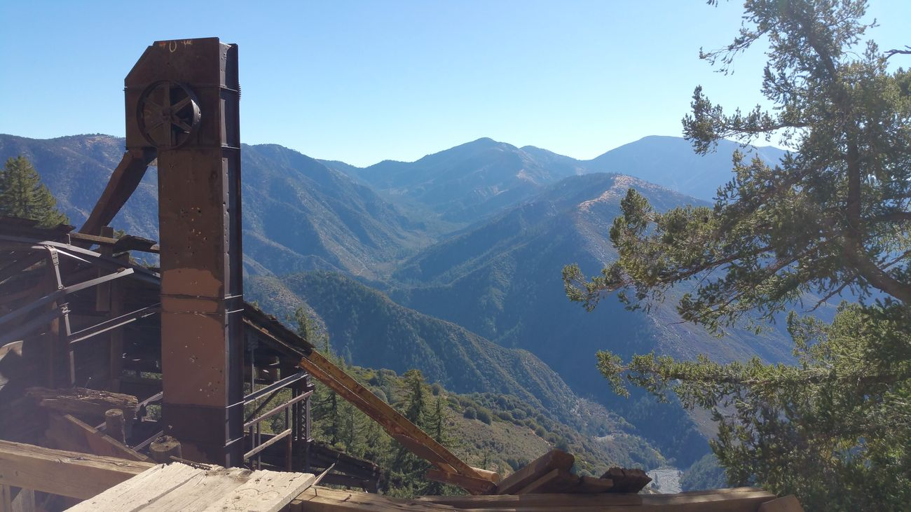 The view from Big Horn Mine. Big Horn Mine Angeles National Forest Southern California SoCal National Forest Abandoned Places Abandoned Abandoned Mine Mountains Mountains And Sky Nature