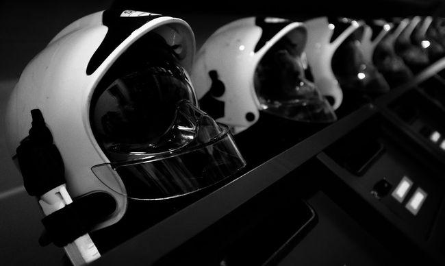 Helmet Firefighter Blackandwhite Black & White Bw_ Collection