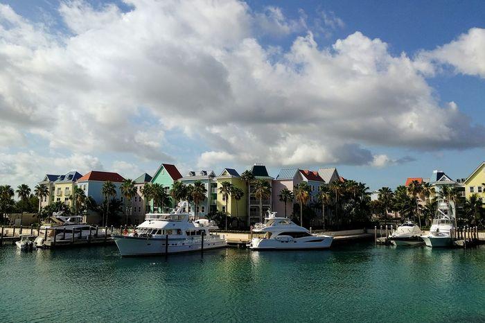 Bahamas Nassau Harborside Marina Boat Vacation