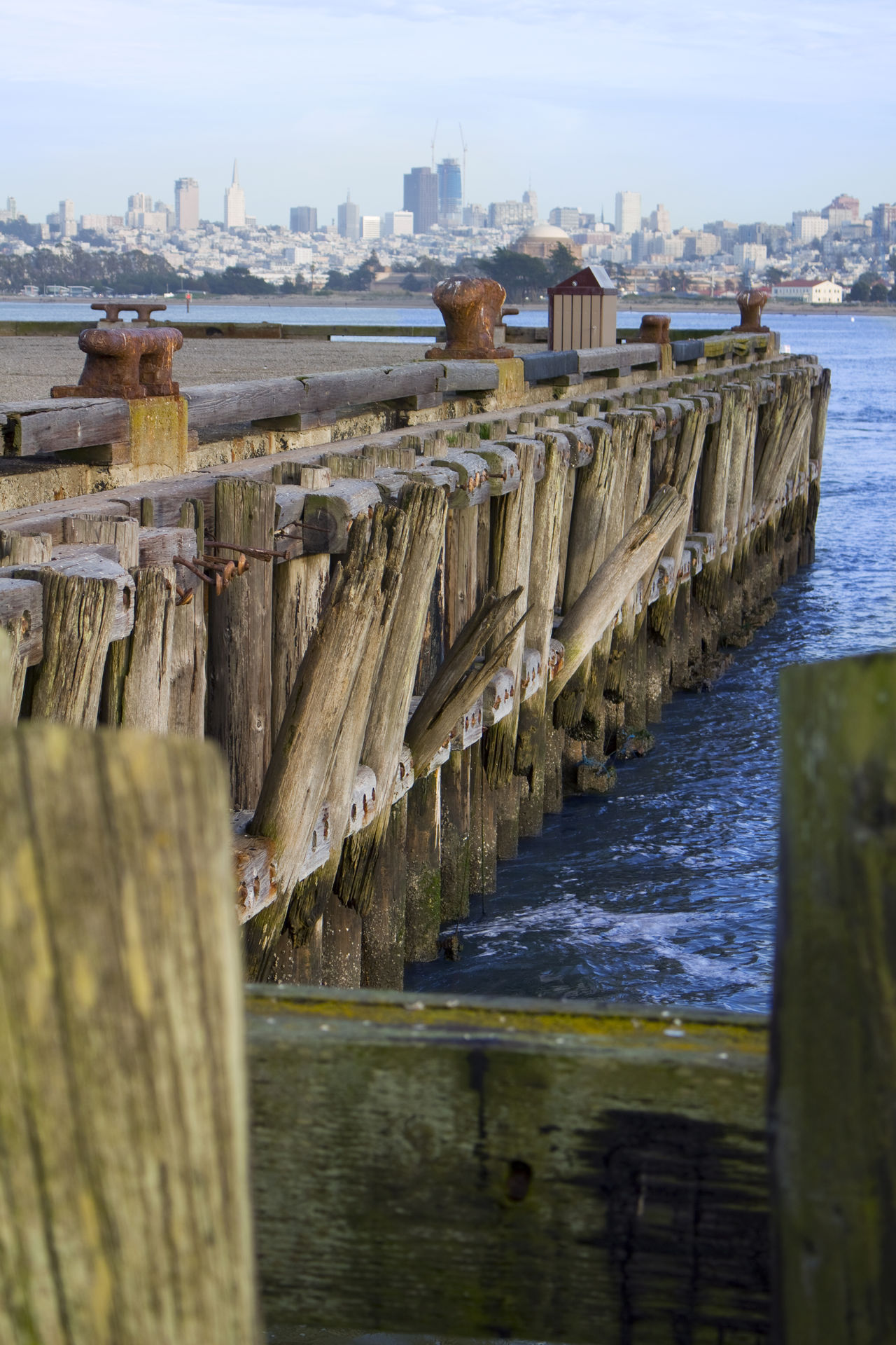 A pier on the San Francisco bay. Architecture Building Exterior Built Structure City Cityscapes Day No People Ocean View Oceanside Outdoors Pier San Francisco San Francisco Bay Sea Sky Urban Urban Landscape Urban Skyline Urbanphotography Water Wooden Structure