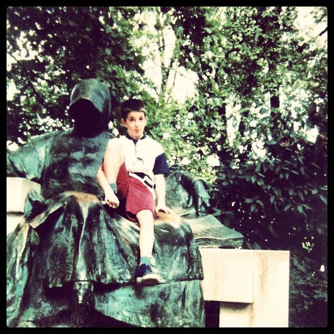 :) more than 15 years ago... Anonymus Manieck Thowback