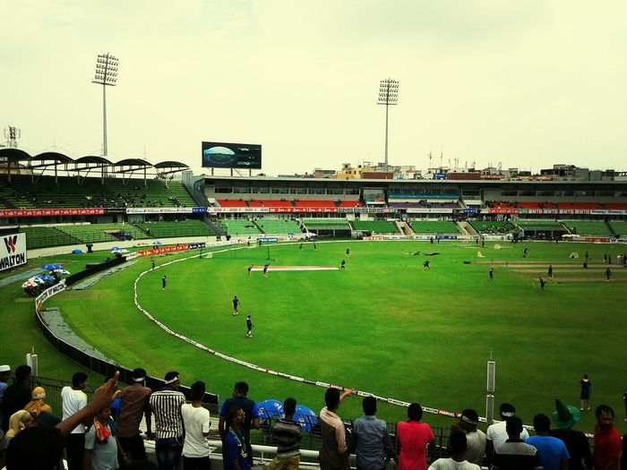National Cricket Stadium Dhaka Beautiful Bangladesh