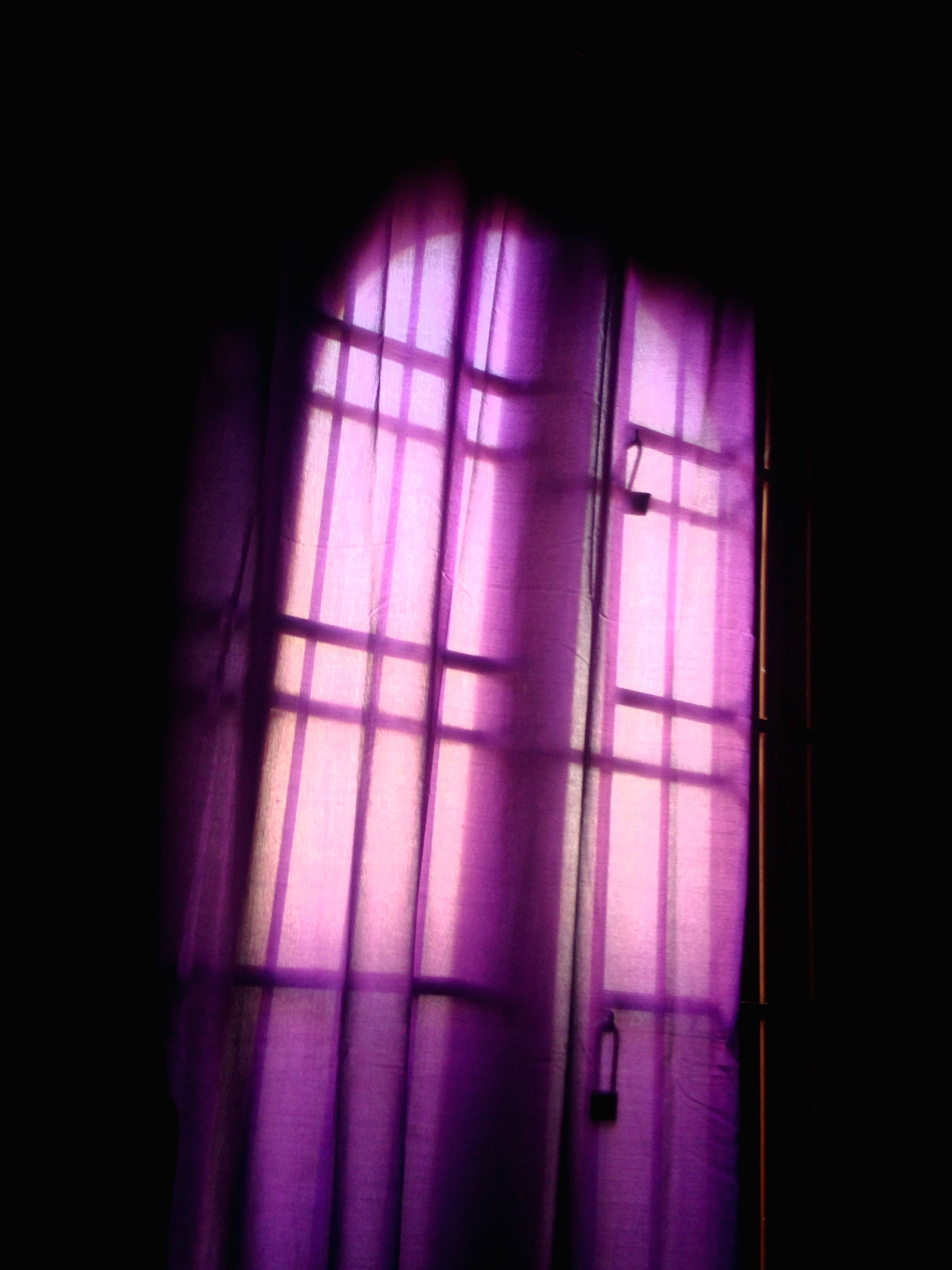 indoors, window, wall - building feature, curtain, closed, home interior, wall, built structure, door, architecture, dark, house, domestic room, no people, room, glass - material, copy space, sunlight, shadow, transparent