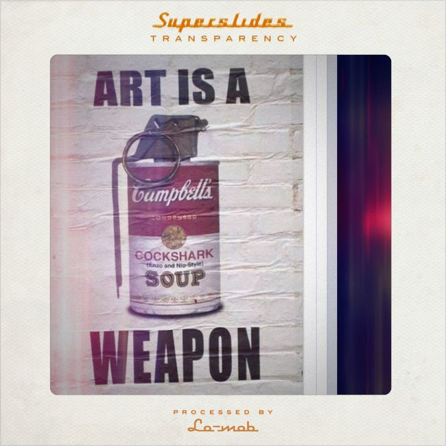 Campbell Soup Weaponry... Incidental Art