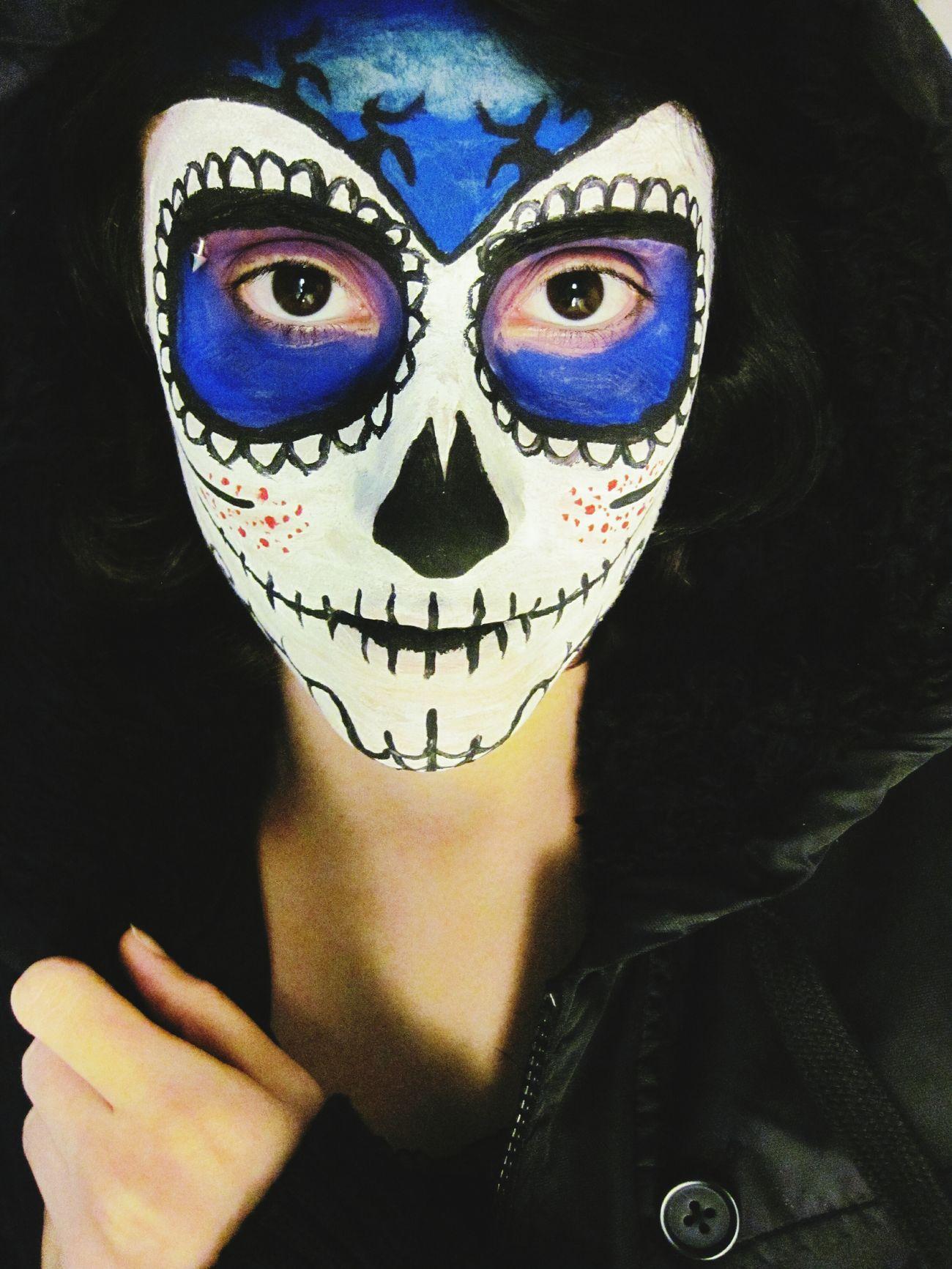 Halloween Horrors Sugar Skull Skull Gothic
