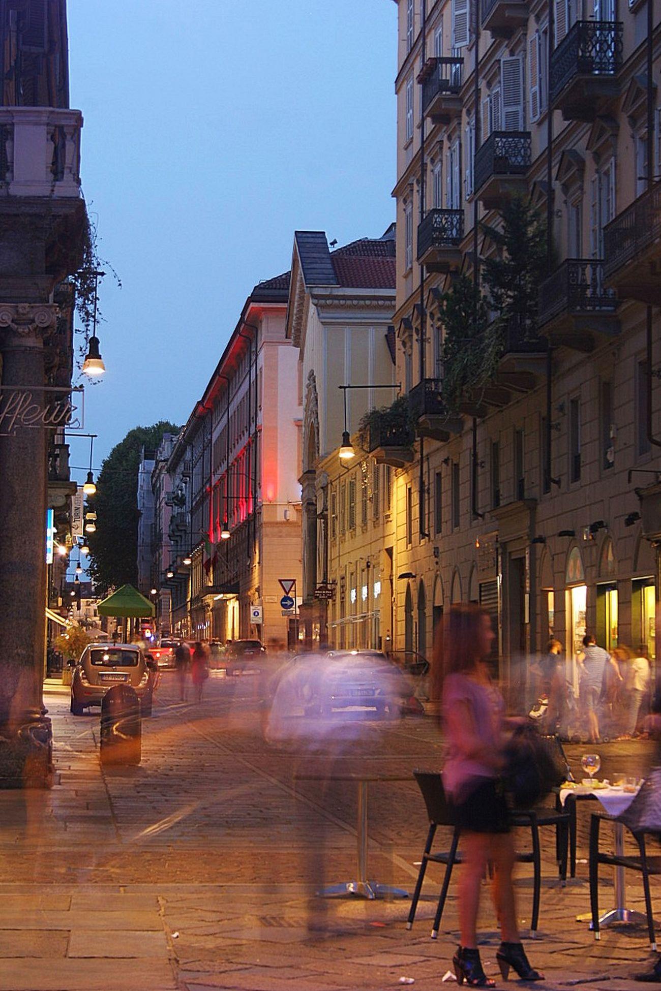 City City Life Colour Of Life Nightphotography Pink Lady Street Torino