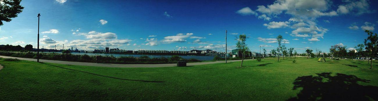 Panoramic Hanriver Summer