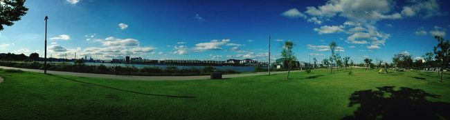 Panoramic Hanriver Summer