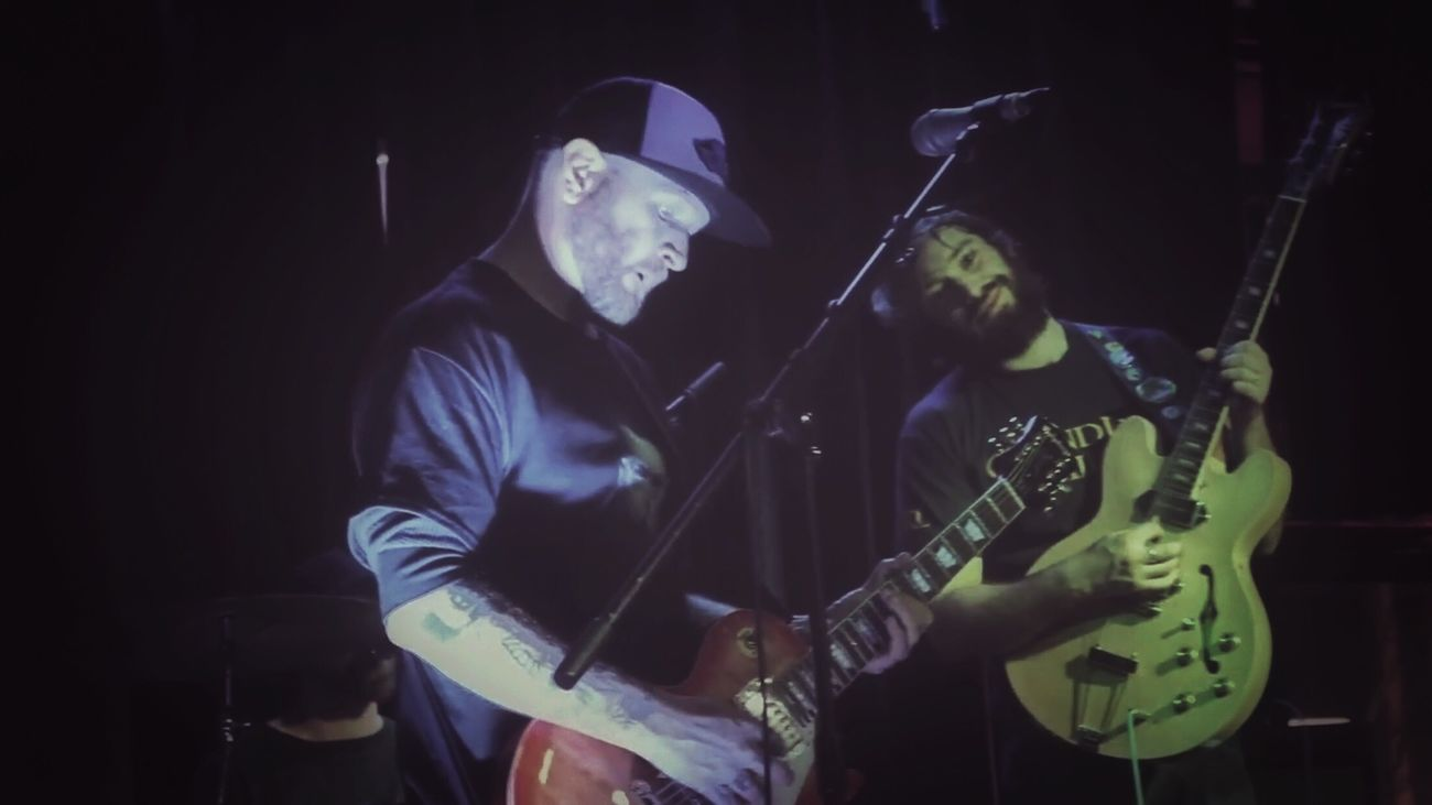 Me and my brother in battle Parole Denied Paroledenied Band Music Musician Guitarist Musicians Concert New Music Southern Oregon Oregon Medford, Oregon LiveMusic Show Southernoregon Tattooed Live Music That's Me Playing Music Guitar Player Guitar Music Bands Electric Guitar Playing
