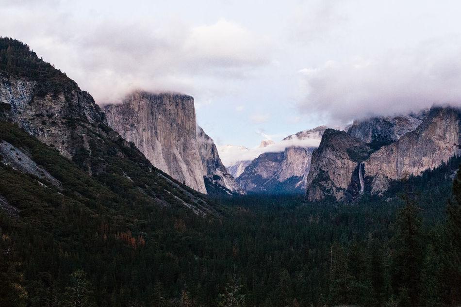 Beautiful stock photos of berge, Beauty In Nature, Cloud - Sky, Day, El Capitan - Yosemite National Park
