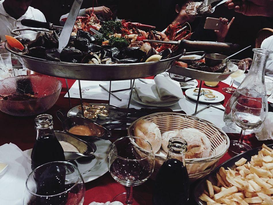 Seafoodporn Dinner France