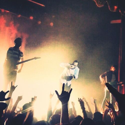 """""""Now is the time to turn down our heads and turn up our hearts."""" Live Music August Burns Red Metalhead Lovelife"""