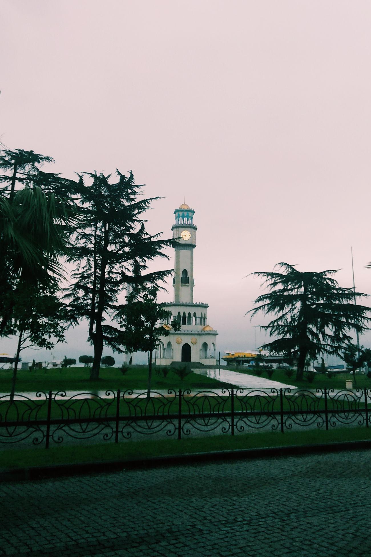 Watchtower Watch Replica  Izmir Konak Batumi Building Taking Photos Time Vscoturkey City