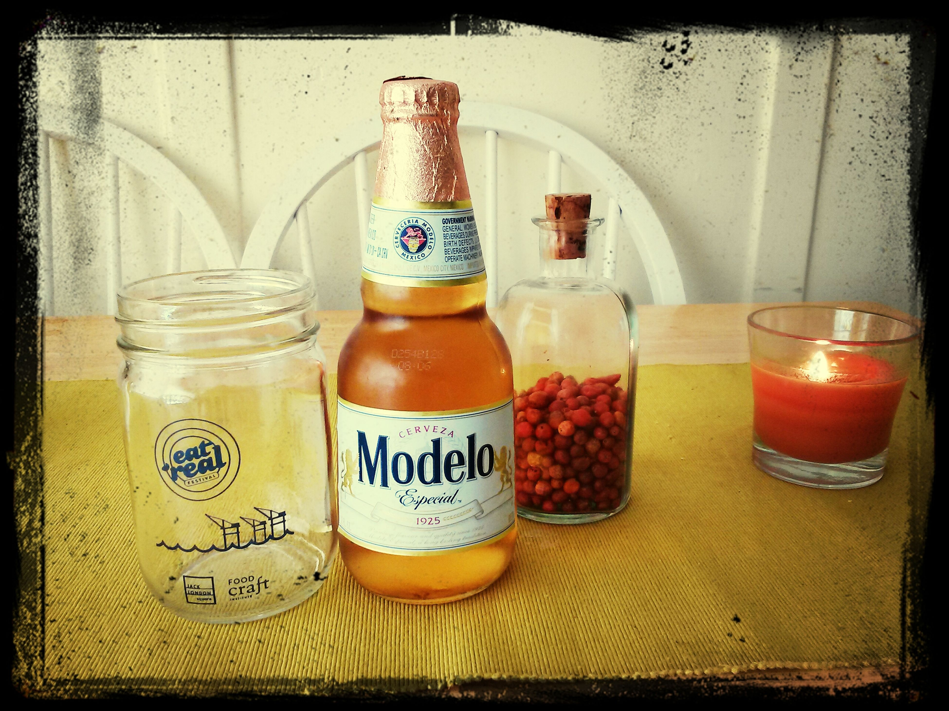 Beer Masonjar Eatrealfestival Chillies