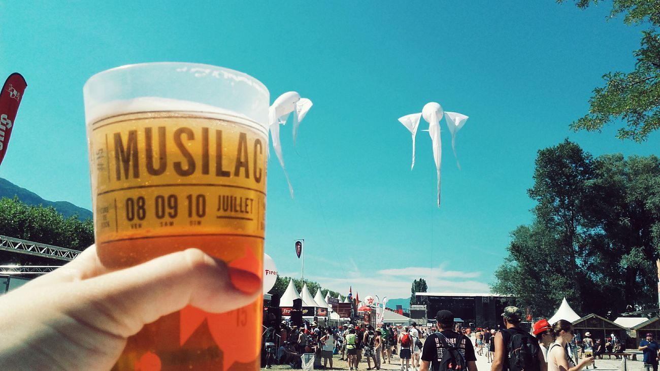 Festival Musilac Aix Les Bains France