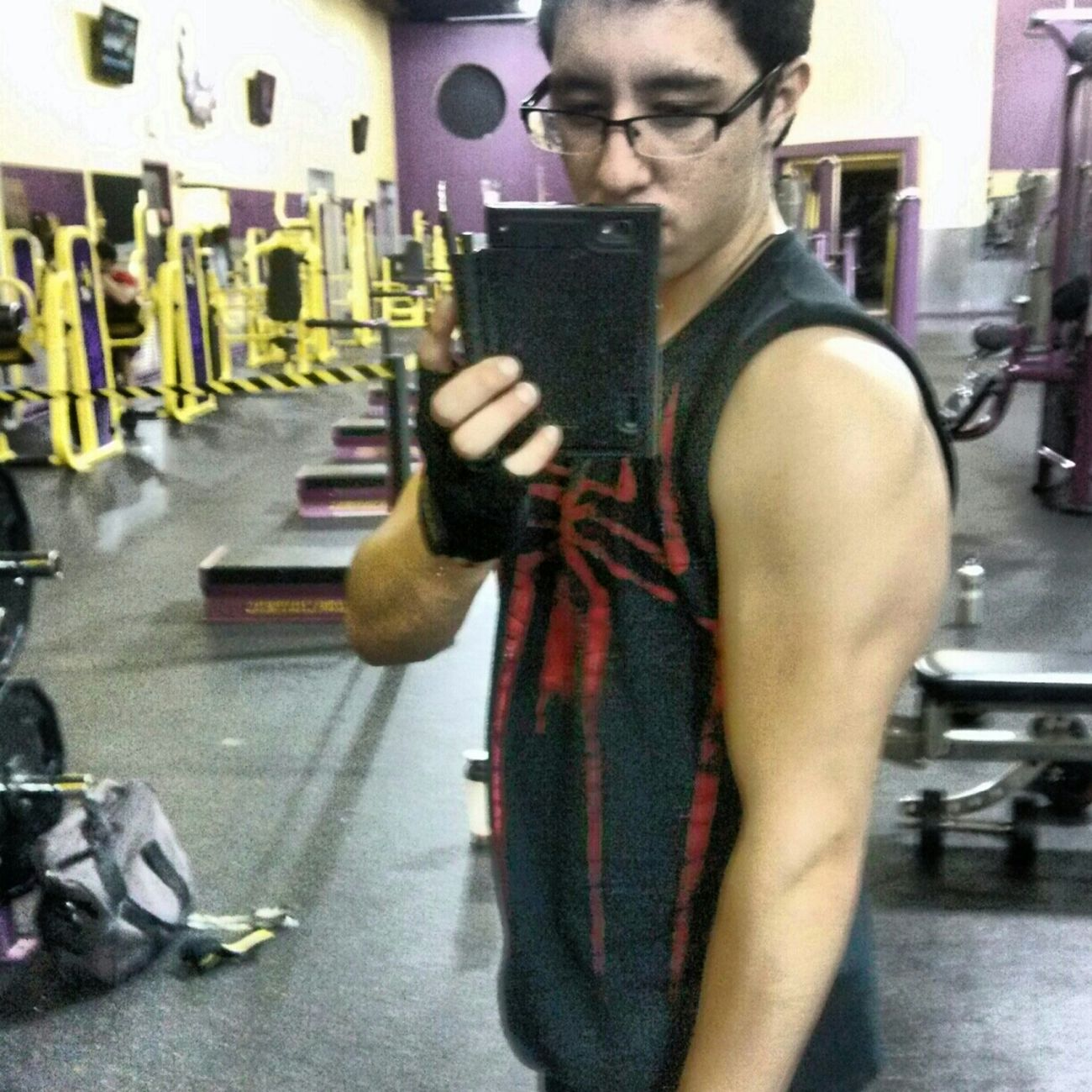 broader shoulders, bigger bicep peaks, eagle claw triceps. getting there!
