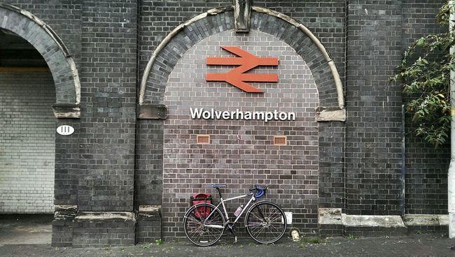Wolverhampton Bicycle Train Station Bicicleta Solobikeparking