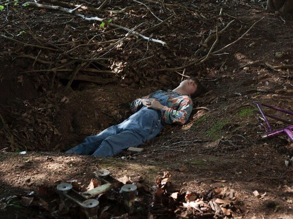 Jacob, 17, Suffolk 2016 Lying Down Outdoors Woods nature countryside Suffolk, United Kingdom Teenager Youth Culture Countryside Summer