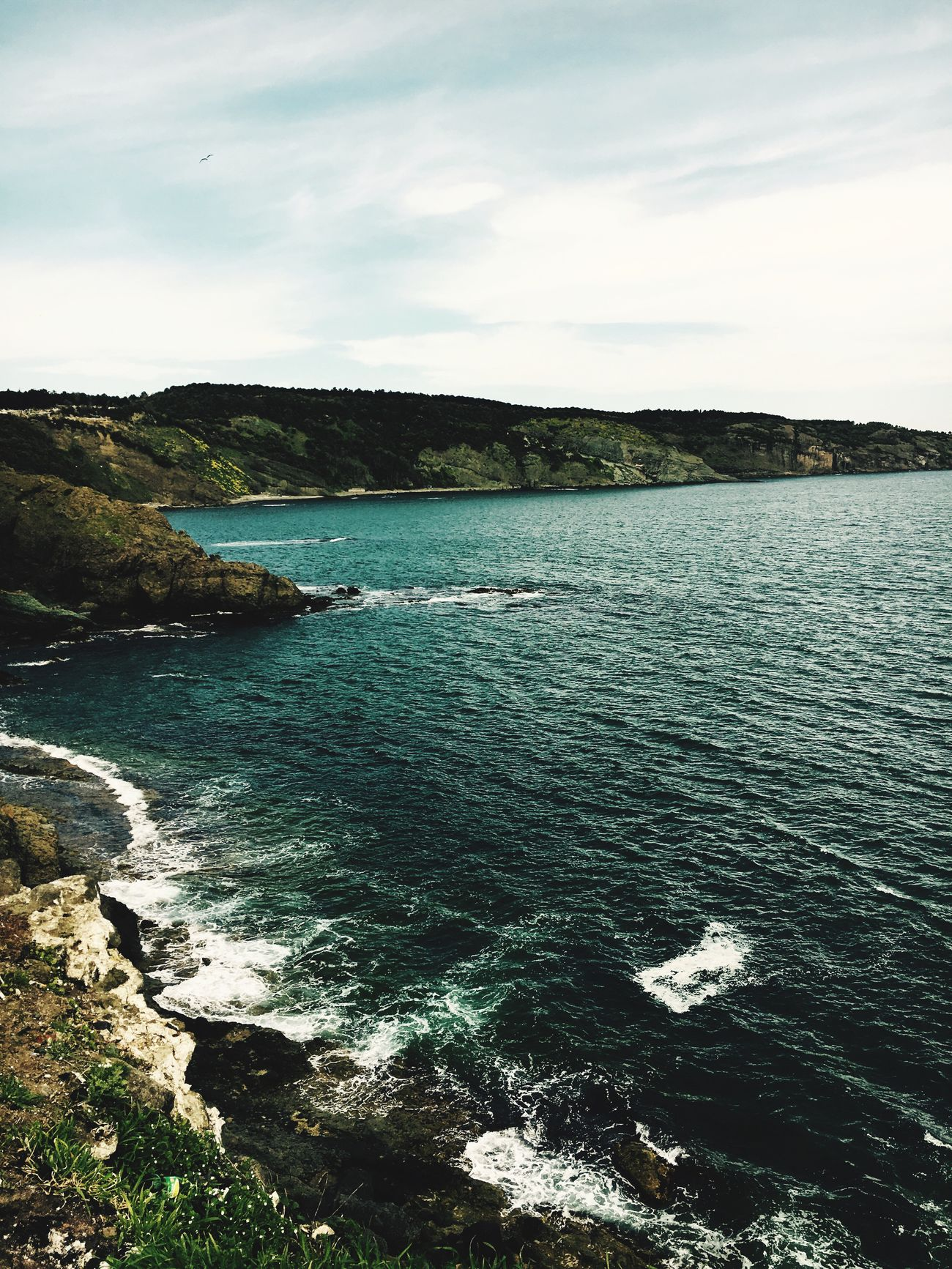 Heaven ? EyeEmNewHere Nature Sea Beauty In Nature Scenics Tranquil Scene Sky No People Outdoors Tranquility Day Cliff The Secret Spaces The Great Outdoors - 2017 EyeEm Awards
