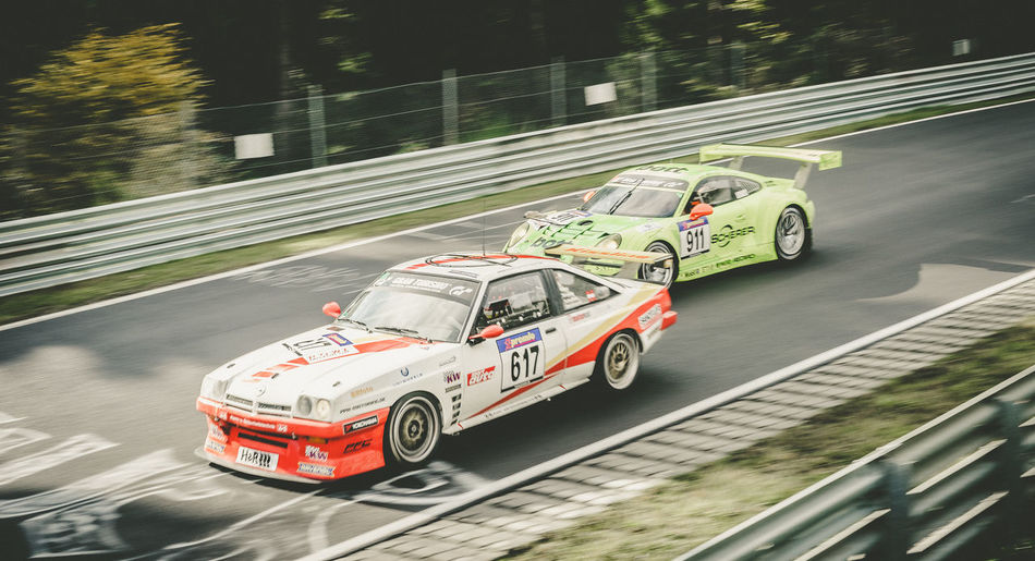 Blurred Motion Car Day Driving Lancia Motion Motorsport Movement No People Outdoors Porsche Race Racecar Racetrack Racing Road Speed Sports Race