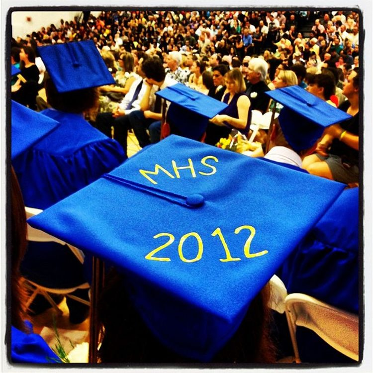 MHS 2012. #graduation #miltonvt Miltonvt Vt_scene IPhoneography Vermont_scene School Mhs2012 Proud Grads Graduation Crowd Highschool Classof2012 Parents Vermont Students Milton Instagood Vt 802