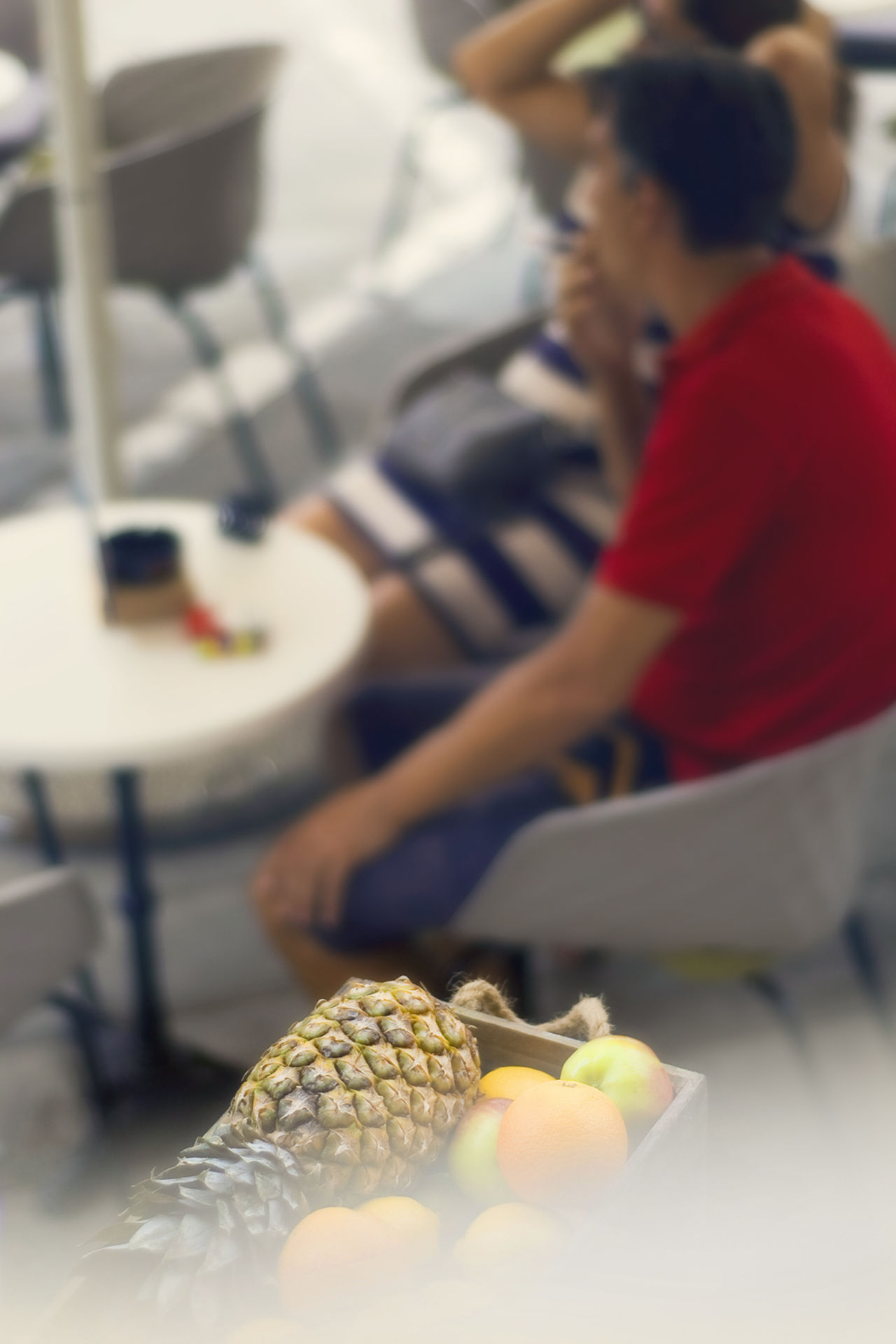Coffee House Croatia Dalmatia Food Food And Drink Freshness Fruit Fruit Bowl Having A Coffee Having A Good Time Having A Rest Healthy Eating; Healthy Food Pineapples Pineapple🍍 Trogir