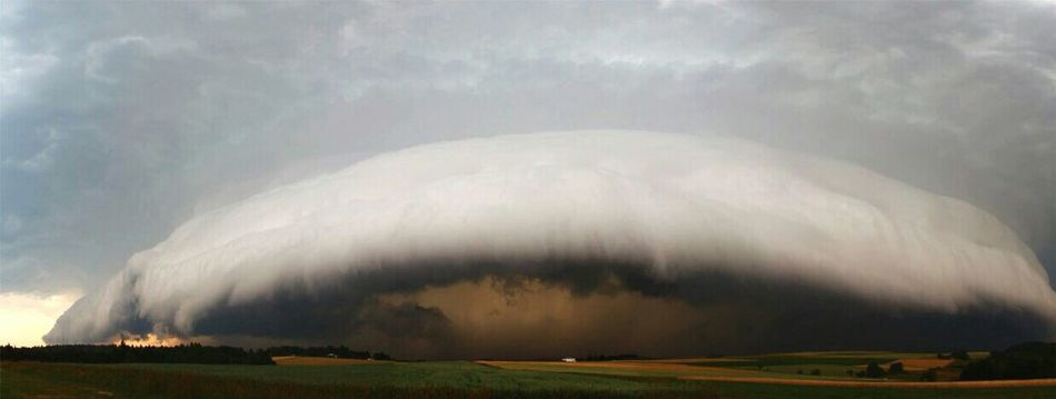 Giant cloud formation near my hometown Thunderstorm No People Storm Outdoors Cloud Cloudy Gigant Scary Calming Nature Explosion
