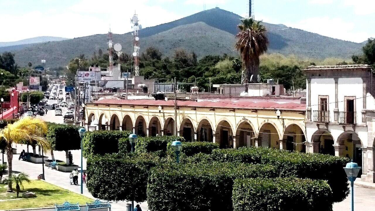 Arcos del centro de IxmiquilpanHgo Bella Ciudad
