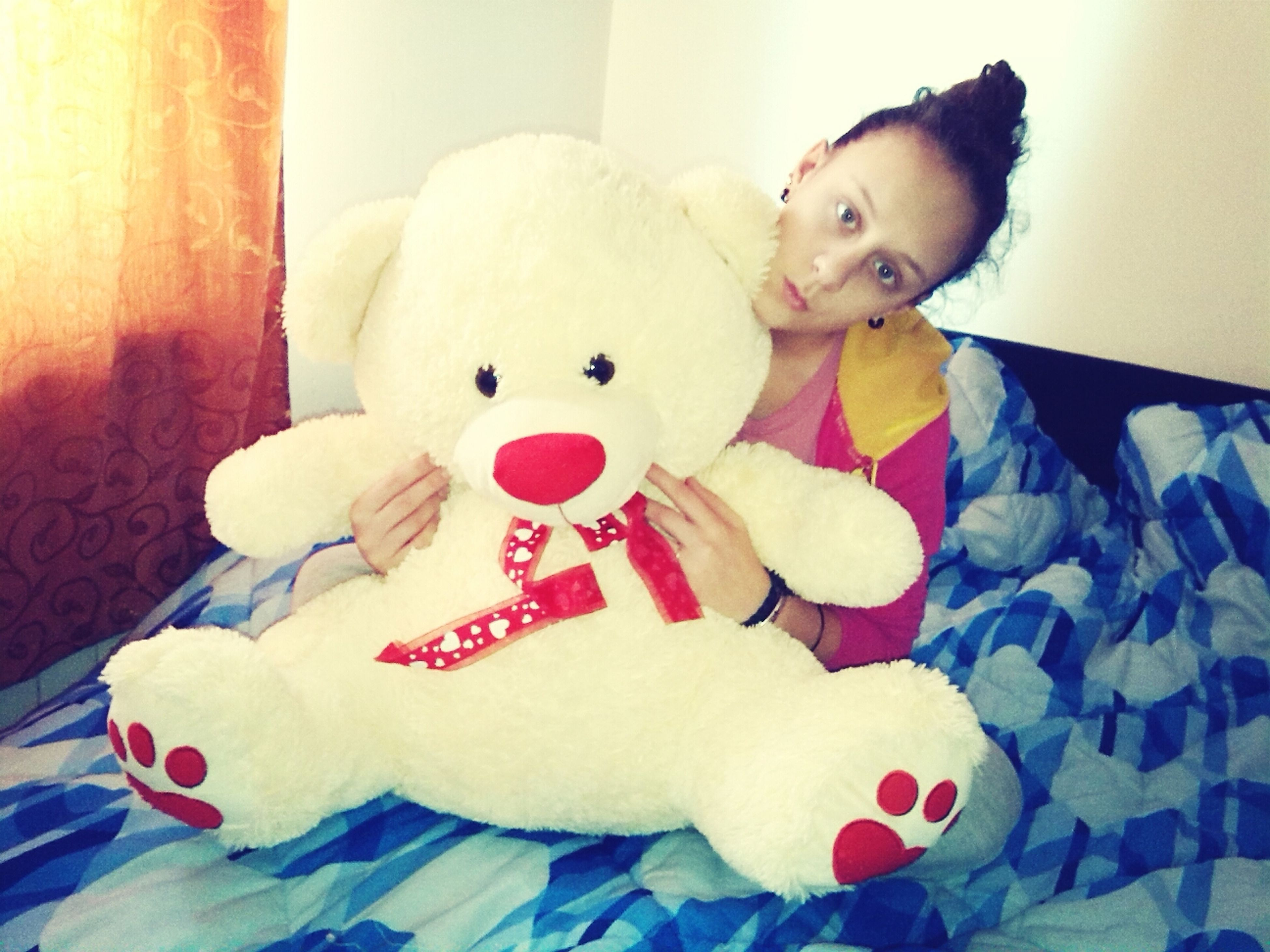 Big Teddy Bear  I'm Loving It. :3 Today Taken Photo <33