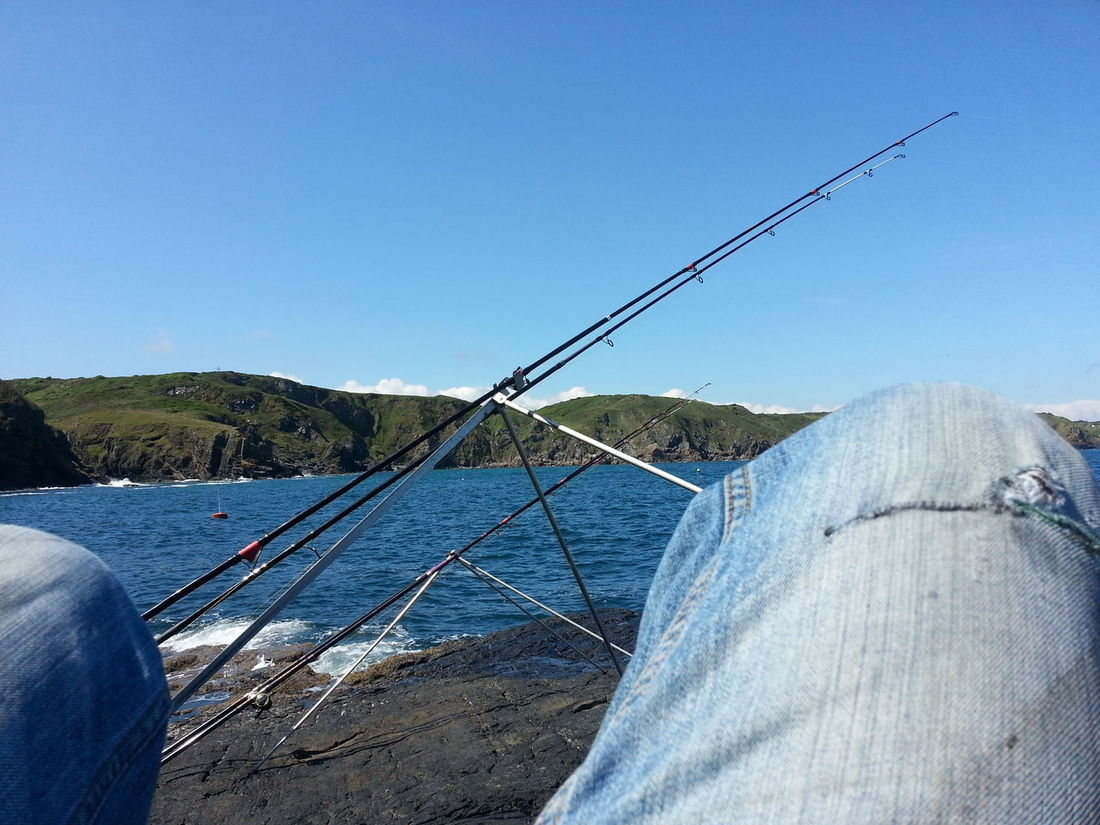 Scruffy trousers but a nice relaxing afternoon on the Lizard The Lizard Sea Angling