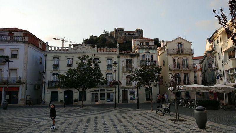 City Street Architecture Travel Destinations Building Exterior City Day Leiria Portugal Castles Castle View