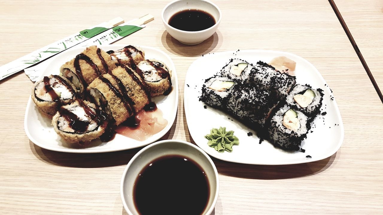 #delicious #STICKS #sushi Food Freshness High Angle View No People Ready-to-eat Soy Sauce