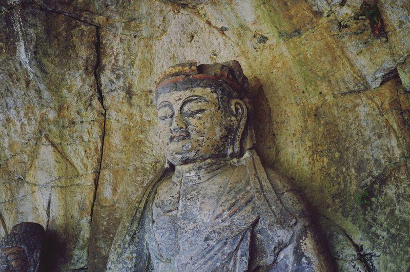 臼杵の石仏。 Ooita Japan A Statue Of Buddha Sekibutsu Ultimate Japan Silence