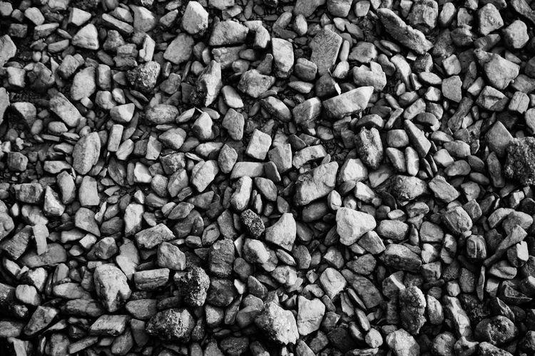Rocks Little Rocks Pattern, Texture, Shape And Form Blackandwhite Surface Backgrounds Gravel Gravel Floor Floor Wall Gravel Texture