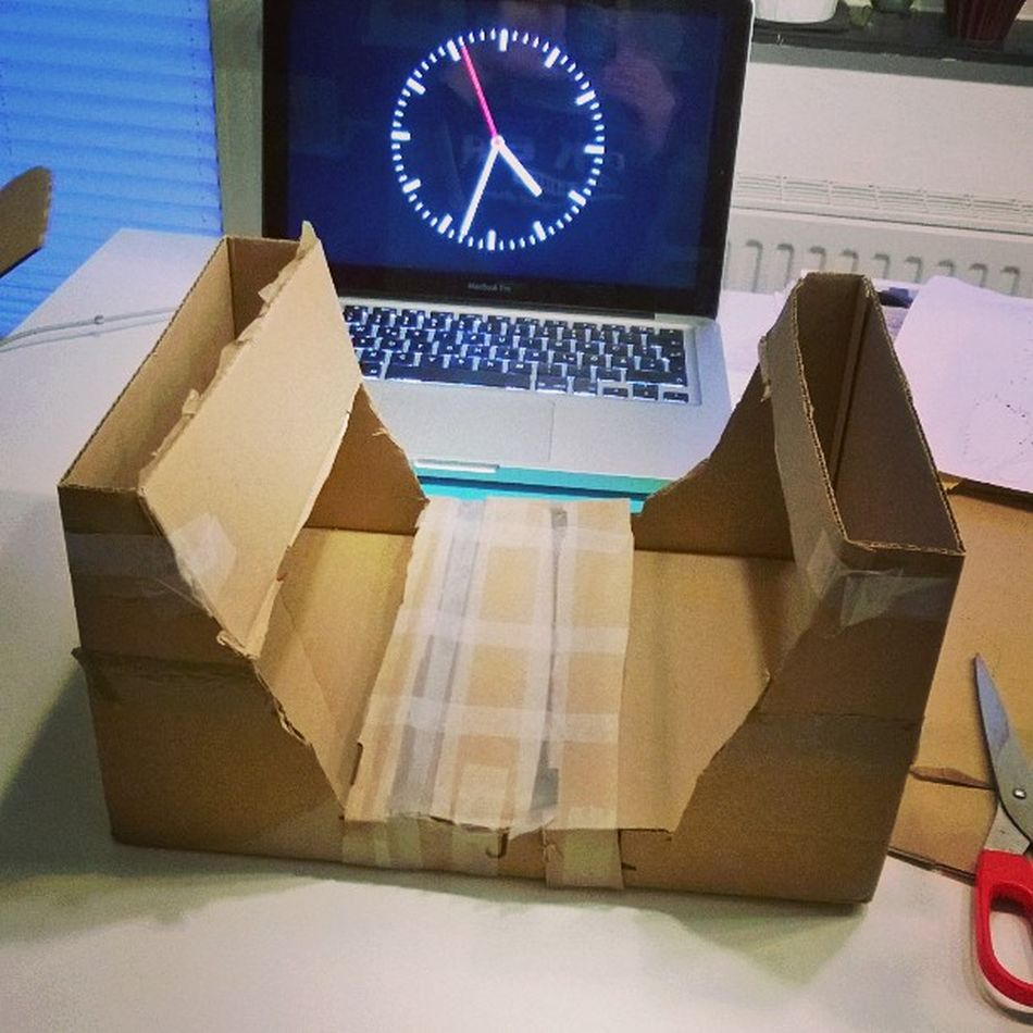 Naaa? Was basteln wir? Fingerboardshabenwirfrüherauchselbergebaut !
