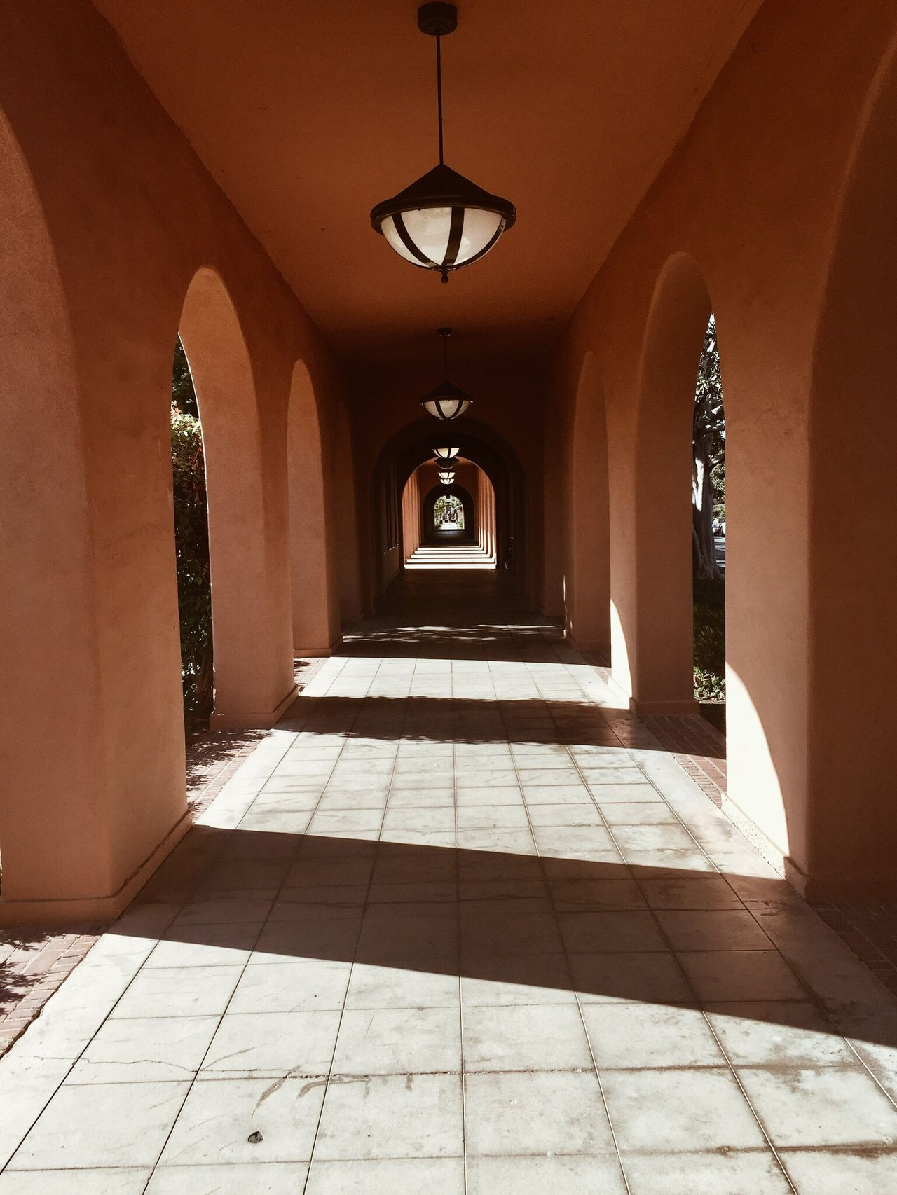 Liberty Station San Diego, California Arch Indoors  The Way Forward Tiled Floor Illuminated Architecture Architectural Column Built Structure No People Hallway Passage Day