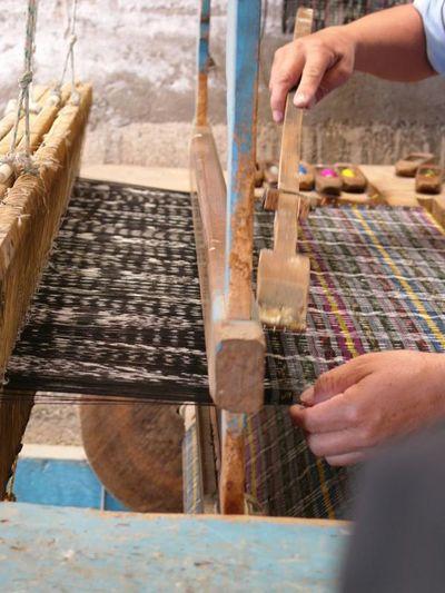 Weaver Loom Salcajà Quetzaltenango Guatemala