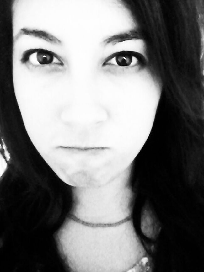 Angry Eye Portrait