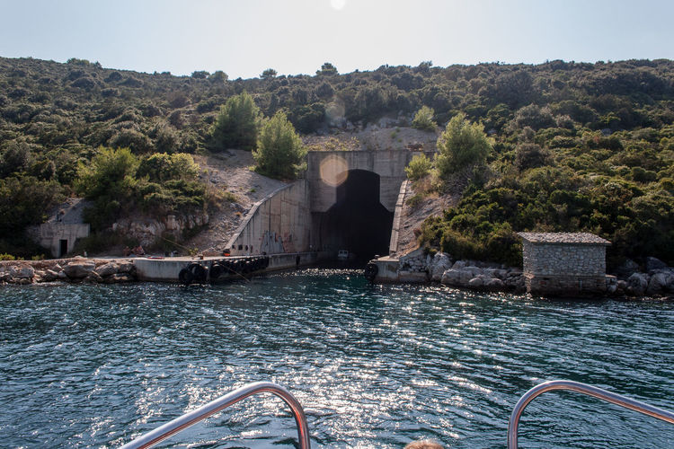 Croatia Otok Molat Architecture Bridge - Man Made Structure Built Structure Connection Dalmatia Day Nature No People Outdoors Sky Transportation Tree Water