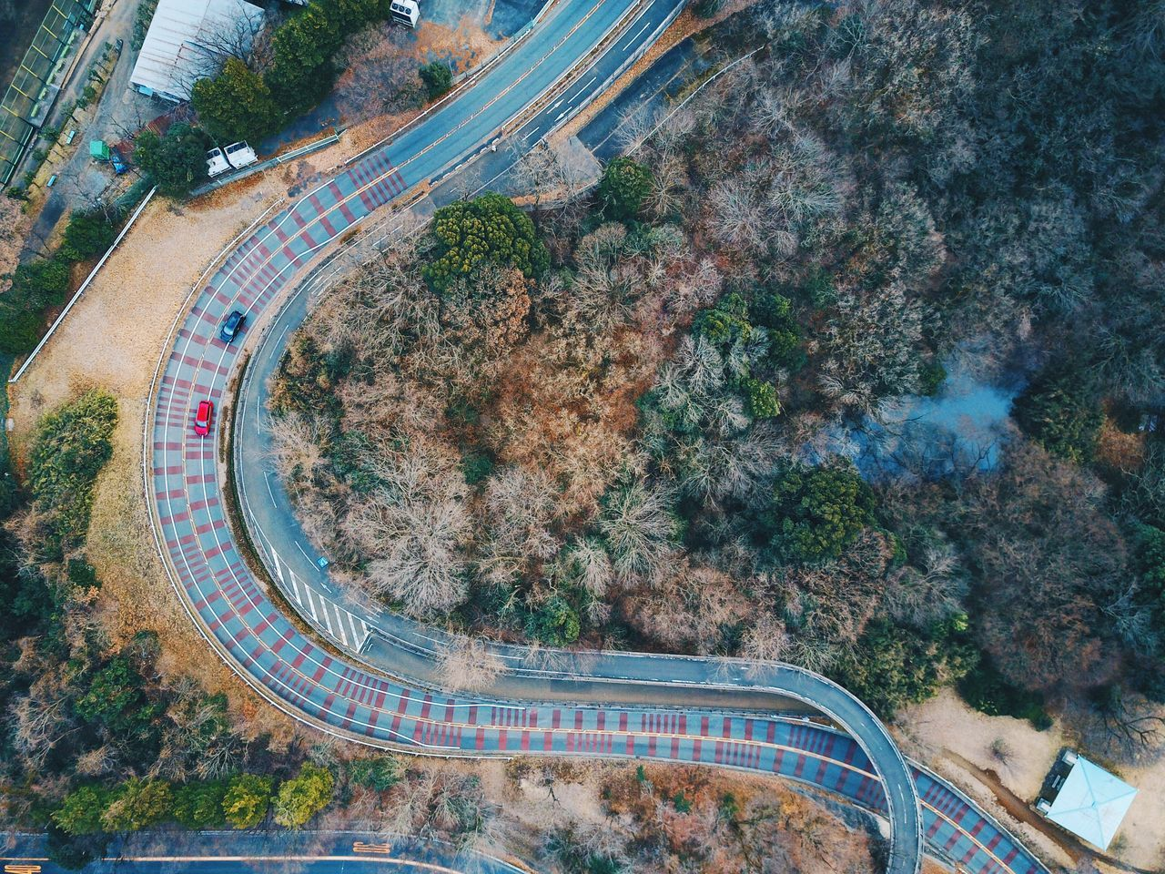 Tree Transportation High Angle View Land Vehicle Outdoors Architecture Built Structure Nature Day No People Nature Beauty In Nature Drone  Vscocam Dronephotography Power In Nature Connection VSCO Tree Aerial View Road Landscape Vscogood Aerial Photography Aerospace Industry Flying High