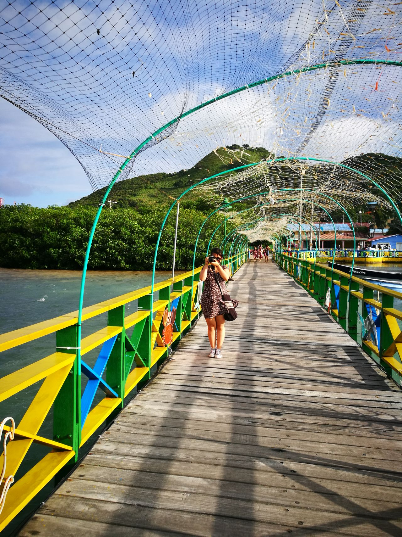 Bridge , Women, Sea Day photographer Building Exterior People