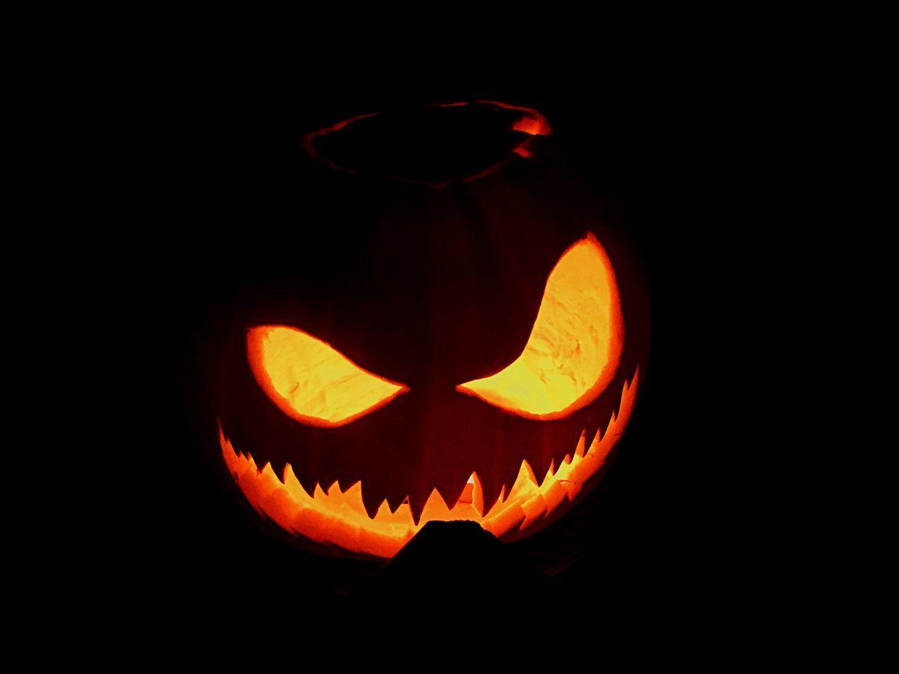 Beautiful stock photos of halloween, Anthropomorphic Face, Art, Art And Craft, Black Background