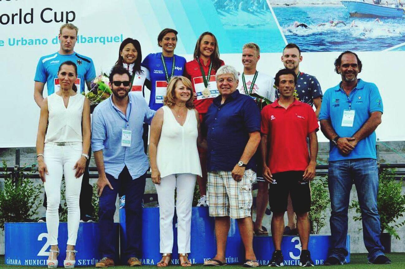 Setúbalbay Swimming Worldcup Winners Volunteer Saturday Setubal