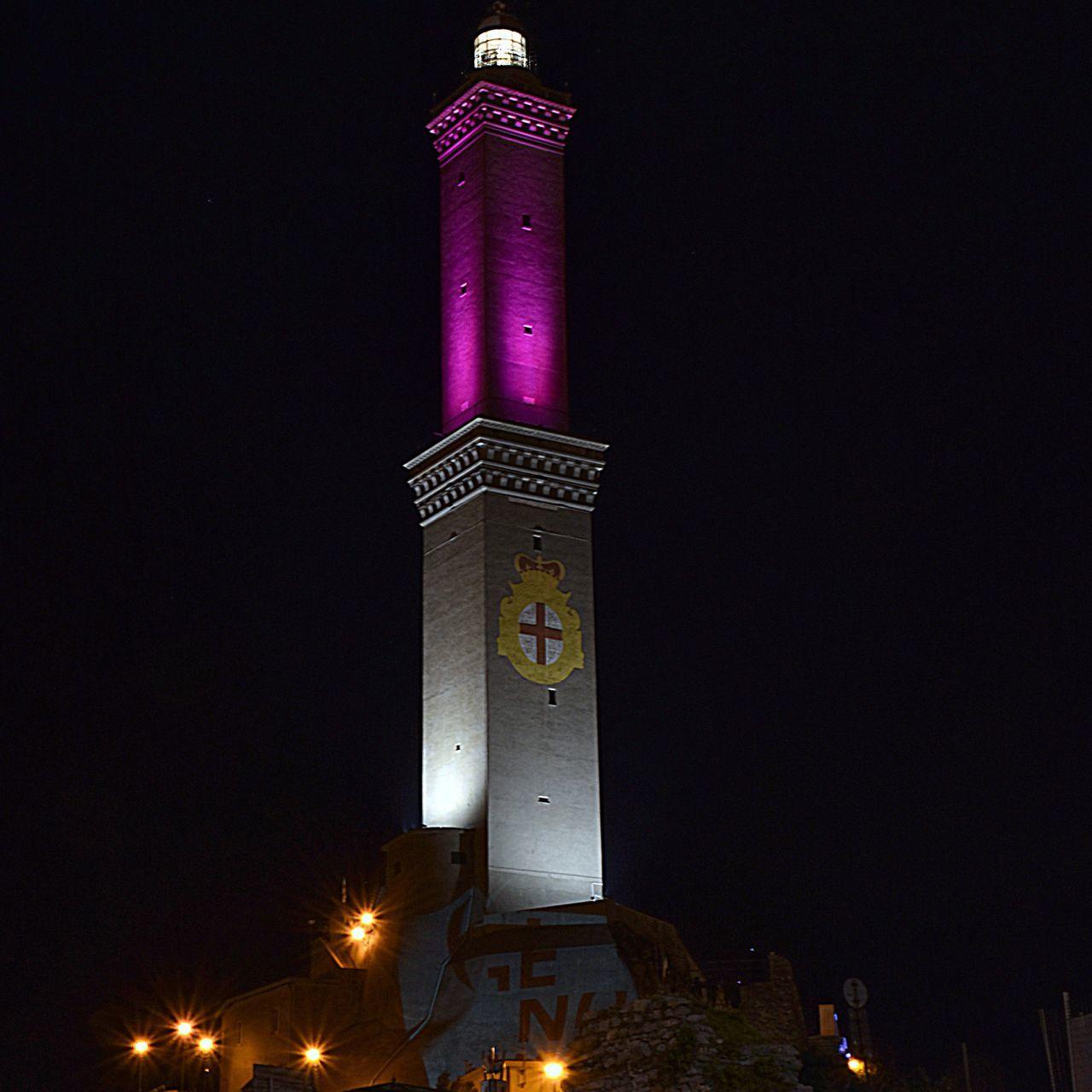 Illuminated Night Midnight Lanterna Genova Night City Ig_genova Genova ♥ Light Effect Nightlights Lanterna Di Genova Night Lights Night Photography Nightphotography Genovaèbella❤