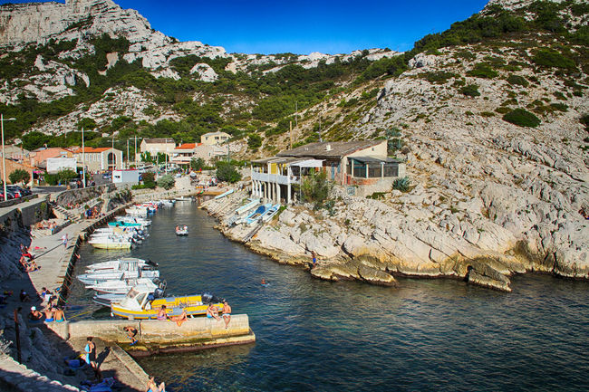 Architecture Blue Boat Built Structure Day Harbor High Angle View House Les Goudes, Marseille Mode Of Transport Mountain Nature Nautical Vessel Outdoors Port Sea Sky Tourism Tourism Destination Tourist Attraction  Tourist Destination Tranquil Scene Travel Destinations Water Waterfront