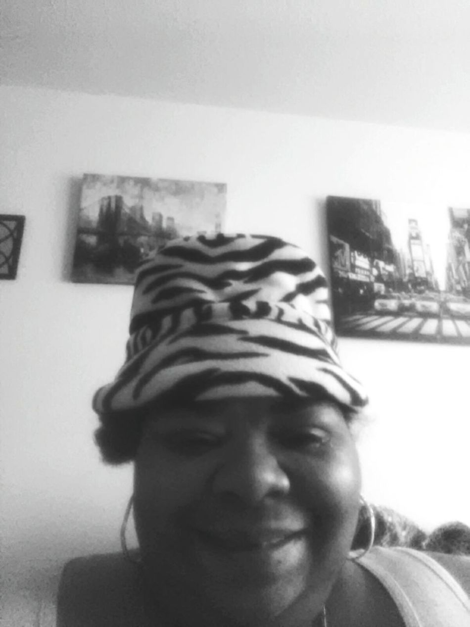 Monochrome Photography Black N White Grand Life Including Zebra Hats. Real People Close-up Vertical Front View