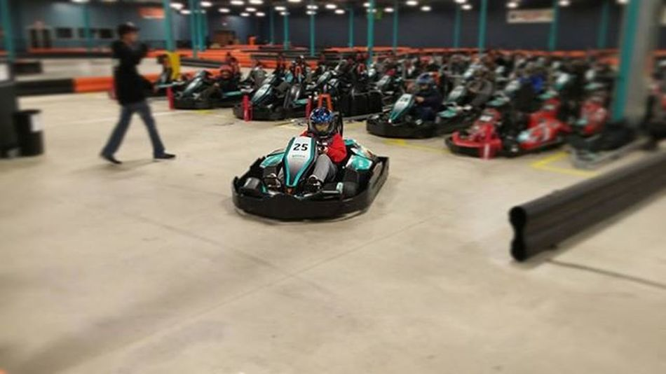go-kart racing is my new thing😊💟