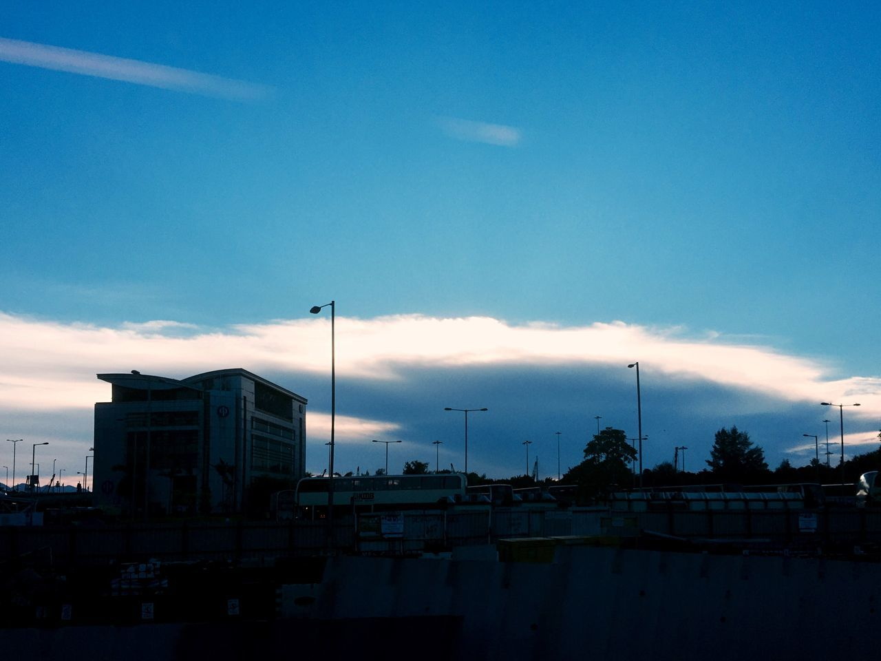 sky, building exterior, built structure, architecture, cloud - sky, no people, outdoors, blue, day, city, sunset, nautical vessel, nature, tree, cityscape