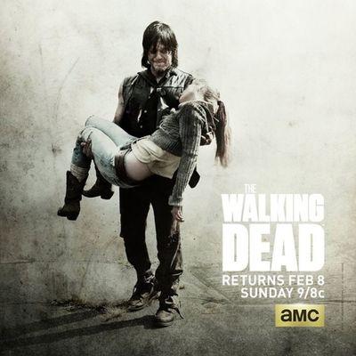 ...e mo chi ce la fa ad aspettare Febbraio?! 👌 Thewalkingdead TWD Midseason Daryl RIPBeth amc fox waitingforFebruary